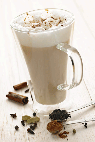 chai tea latte drink recipe