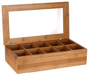 tea storage box - best gifts for tea drinkers