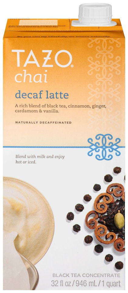 Tazo also makes tea concentrates that you can pick up at the grocery store, for when you really need to focus! Get it? (Sorry for the pun.)