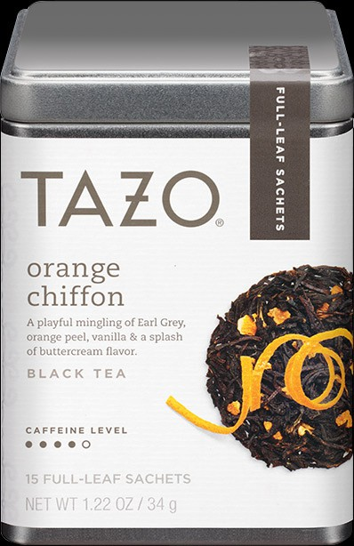 Orange you glad you can pick up some delicious orange chiffon by Tazo? (The puns just don't stop coming!)